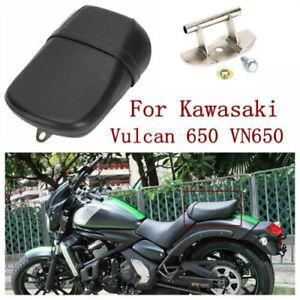 Black Motorcycle Rear Pillion Passenger Seat For Kawasaki Vulcan 650 VN650 15-17