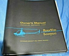 New ListingRotorway Scorpion too helicopter manual and other paperwork plus 133 brochure