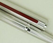 More details for no reserve waterman dg fluted solid silver red lac fibre tip pen