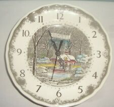 Enoch Wedgwood Shakespeare's Sonnets Wall Clock - Battery Operated Working