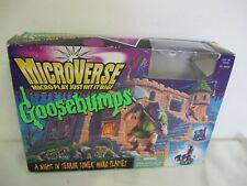 GOOSEBUMPS MICROVERSE NIGHT IN TERROR TOWER MICRO PLAYSET KENNER 1996 RARE