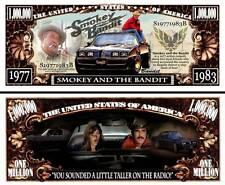 COURS APRES MOI SHERIF BILLET MILLION DOLLAR US! VOITURE PONTIAC FIREBIRD BANDIT