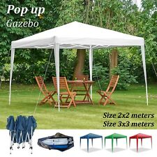Heavy Duty Pop Up Gazebo For Garden Canopy Outdoor Waterproof Party Tent Marquee