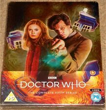 Doctor Who: Complete Series 5 Limited Edition Steelbook/ WORLDWIDE SHIPPING