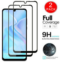 For Huawei P30 P20 Lite Caseswill FULL COVER 9D Tempered Glass Screen Protector