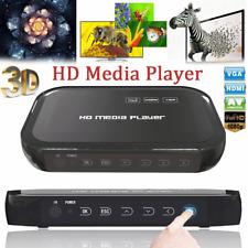 Box 1080p 3D Full HD USB HDD Media Player HDMI VGA MKV Multimediale Lettore 0 TD