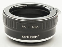K&F Concept pentax PK K Sony NEX Lens Mount Adapter Objektivadapter -- Pentax PK