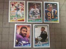 1988 TOPPS FOOTBALL ROOKIE CARD LOT