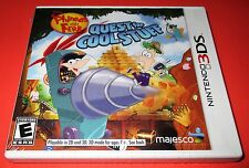Phineas and Ferb: Quest for Cool Stuff Nintendo 3DS *Factory Sealed *Free Ship!