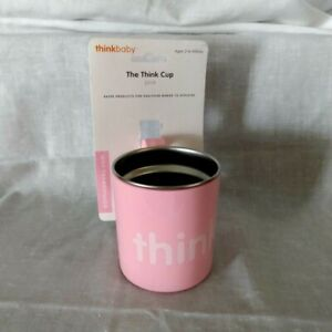 The Think Cup by Thinkbaby,in pink,old new stock, unused, baby child cup