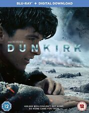 Dunkirk Blu Ray special features disc and slipcover digital ultraviolet download