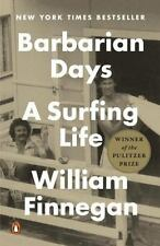Barbarian Days A Surfing Life by William Finnegan Paperback Biography Book About