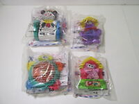 McDonald's Under 3 Set Of 4 Fisher Price Happy Meal Toy 2001  t4346