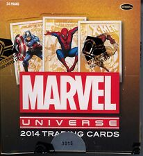 Marvel Universe 2014 Trading Card Box MINT