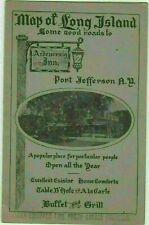 "1910's Vintage ""Ardencraig Inn"" Brochure Port Jefferson Long Island New York"