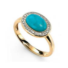 Turquoise Statement Fine Rings