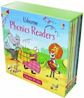 Usborne Phonics Readers 20 books Box Set Collection Book NEW
