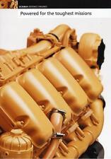 SCANIA DEFENCE ENGINES 2016 MILITARY BROCHURE PROSPEKT CATALOGUE FOLDER