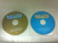 R&B Love Collection 2009 Various Artists 2 Disc Music CD - DISCS ONLY in Sleeves
