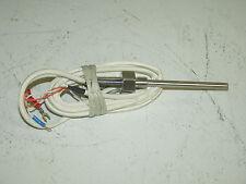 RTD PT100 10cm 3-Wire Platinum Temperature Sensors (New)
