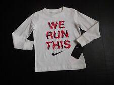 NWT Boys Nike ~ We Run This ~ Long Sleeve Shirt sz 7