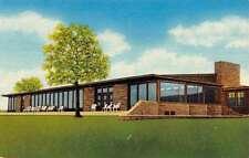 Marietta Oklahoma Lake Murray Lodge Street View Vintage Postcard K58568