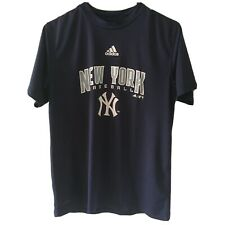 Adidas Boys Ny Yankees T Shirt Size Large 14-16