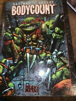 Teenage Mutant Ninja Turtles Bodycount Hardcover HC TMNT Eastman/Bisley 2008