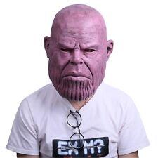 The Avengers Marvel Cosplay Infinity War Thanos Men Full Face Bald Helmet Mask
