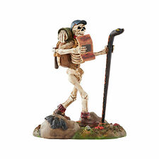 Dept 56 Halloween Snow Village Boneaventure 4054251 Skeleton Hiking Accessory