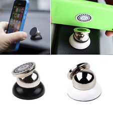 Universal Magnetic Support Cell Phone Car Holder Stand Mount For iPhone 5 6 6S