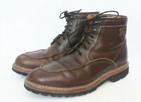 Trask Elkhorn Engineer Boot American Bison Chromexcel Leather Brown USA 11.5 M