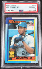 1990 Topps Ken Griffey Jr. Seattle Mariners #336 Baseball Card Graded PSA 10!!!!