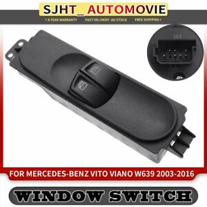 Master Window Switch for Mercedes Benz Vito Viano W639 Series 2003-2016 RHD Only