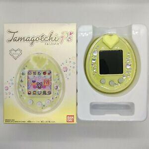 Tamagotchi P's Yellow NEW English Patch Bandai Japan Virtual Pet 2012