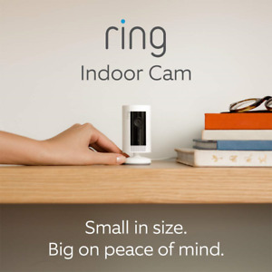 Introducing Ring Indoor Cam | Compact Plug-In HD security camera with Two-Way |
