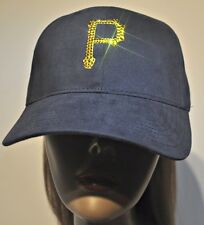 Pittsburgh Pirates Bling Womens Hat Cap Worlds Finest Crystal Rhinestones
