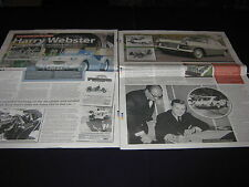 Harry Webster, Triumph TR2, Herald, Peugeot 205 GTI, CTi, 1.9, Ford Mustang