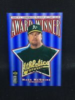 1996 Upper Deck Collectors Choice Award Winner Silver Sig Mark McGwire MINT