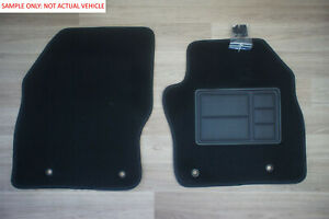 Front Pair Car Floor Mats Custom Fit for Honda City GM2 from 02/2009 to 03/2014