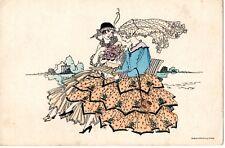 MELA KOEHLER - ART DECO GLAMOUR POST CARD (e)