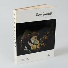 """VTG Illustrated """"Rembrandt"""" Ludwig Munz 1967 Hardcover Dust Jacket Coffee Table"""