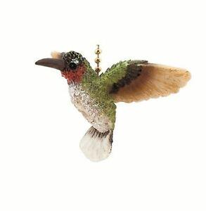 Garden Hummingbird Bird Porch Deck Ceiling Fan or Light Pull Three Dimensional
