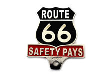 Route 66 License Plate Topper For Harley-Davidson