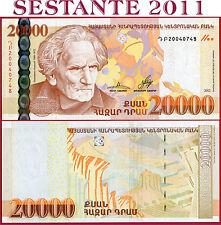 (com) ARMENIA  -  20.000 20000 DRAM 2012  -  P 58  -  UNC
