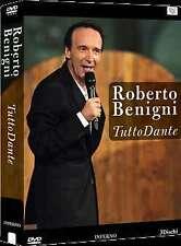 Roberto Benigni - Tutto Dante Vol. 7 - Canto XVII - XVIII - IXX Inferno 3 DVD