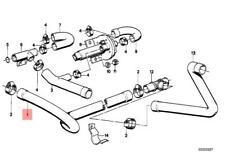Genuine BMW E23 E24 E28 Coupe Sedan Cooling System Water Hose OEM 11531274210