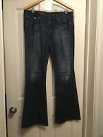 AG ADRIANO GOLDSCHMIED C02 the Club Blue Boot Cut Jeans Size 32R (34x32)