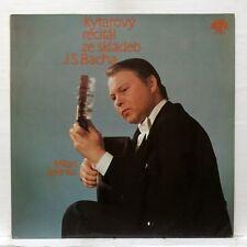 MILAN ZELENKA - JS BACH guitar transcriptions & compositions SUPRAPHON LP EX++