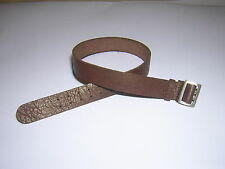 DID 1/6th Scale WW2 German Officer's Brown Leather Belt - Otto
